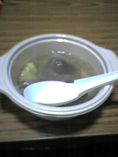蒙古風羊肉野菜スープ